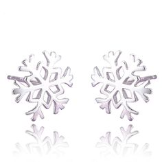 Color: Silver    Pattern: Snowflake    Size: About 1.0*1.0 cm    Weight: About 1g        Package Includes:    1 Pair of Earrings        Notice:    1.Due to the difference between different monitors,     the picture may not reflect the actual color of the item.    Please consider this before the purchase.    2.Please allow slight deviation for the measurement data. | Shop this product here: spree.to/a7zb | Shop all of our products at http://spreesy.com/iyellow    | Pinterest selling powered…