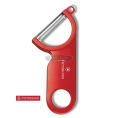 Victorinox Potato Peeler Red Stainless Steel This Victorinox Tomato peeler, or vegetable peeler is the best  kitchen accessories for every modular kitchen.