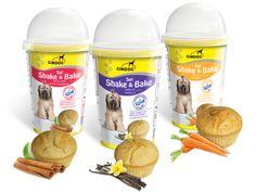 shake bake muffin biscuit chien dog sweet dessert enfourner