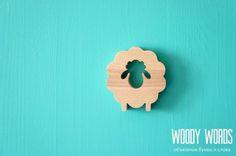 Купить Символ 2015 года Овечка - сувениры, сувениры из дерева, сувениры ручной работы