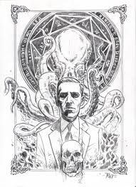 Lovecraft and Cthulhu Yog Sothoth, Call Of Cthulhu Rpg, Lovecraftian Horror, Hp Lovecraft, Monster Design, Illustrations, Sticker Design, Tattoo Drawings, Geek Stuff
