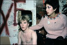 Darby Crash and Alice Bag - Kalifornia Kool, Photographs 1976 – 1982 80s Punk, Punk Goth, Darby Crash, School Pictures, School Pics, Alice Bag, Punks Not Dead, Really Short Hair, Androgynous Look