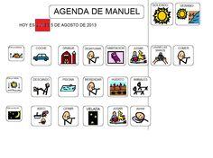 agendas pictogramas para niños autistas - Buscar con Google