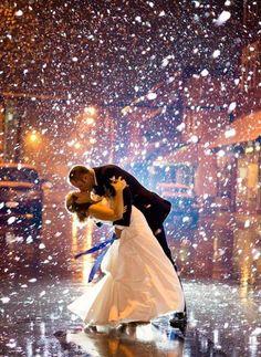 Lumisade ja suudelma, voiko muuta toivoa? ♥