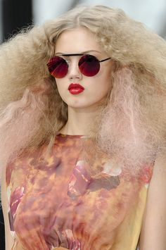 Lindsey Wixson, Topshop Unique S/S 2011, London Fashion Week