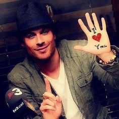 Ian Somerhalder - seriously hes my favorite