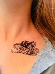 Hey, I found this really awesome Etsy listing at https://www.etsy.com/listing/184444199/2-cat-book-temporary-tattoos-smashtat