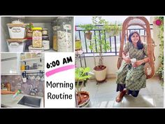 6 AM Morning Routine / 5 Best Productive Habits / How to Manage Daily Household Work - YouTube Homemaking, Productivity, Free Printable, Routine, Blogging, Household, Cleaning, Garden, Life