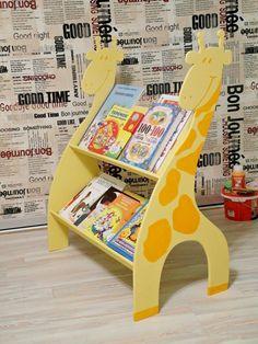 Shelf for children's books.