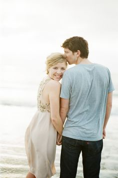 beach engagement...  rylee hitchner photography