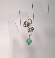 Natural Green Aventurine Ear Cuff by SweetfireCreations on Etsy Green Aventurine, Belly Button Rings, Ear, Etsy Shop, Make It Yourself, Stone, Natural, Blog, Jewelry