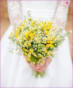 Ans, le bouquet de la mariée