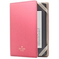 kate spade new york Pebbled Leather Kindle Case Cover, Pink (fits Kindle Paperwhite, Kindle, and Kindle Touch)