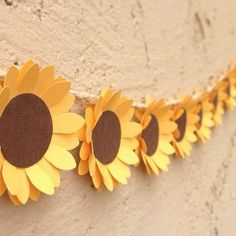 DIY sunflower                                                                                                                                                     More