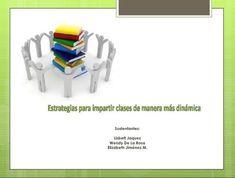 """Hola: Compartimos una interesante presentación sobre """"Cómo Hacer tus Clases más Dinámicas – Estrategias para el Aula"""" Un gran saludo.  Visto en: slideshare.net Acceda a la p…"""