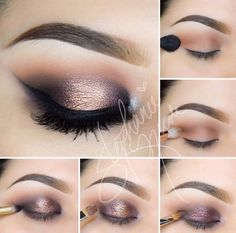 Eye Makeup Tips.Smokey Eye Makeup Tips - For a Catchy and Impressive Look Gorgeous Makeup, Pretty Makeup, Love Makeup, Makeup Tips, Beauty Makeup, Makeup Looks, Makeup Ideas, Makeup Geek, Eye Makeup Tutorials