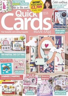 Quick cards made easy issue 166 june 2017