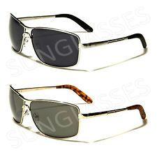 New Black Aviator Retro Vintage Mens Ladies Unisex X Loop Sunglasses UV400 XL1