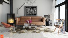 Unique Living Room Rugs Design Ideas
