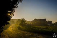 Sunset in Srebrna Góra.  Visit my site www.banita.travel.pl #dust #sunset #poland #zachodslonca