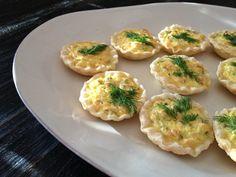 Tartaletas de salmón ahumado  #BlogdeBabyCenter