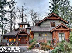 1000 Ideas About Mountain Home Exterior On Pinterest