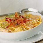 Scopri su Sale&Pepe un'originale ricetta per cucinare le lasagne: i fazzoletti finocchi e speck, con una squisita salsa alla paprica e ricotta.