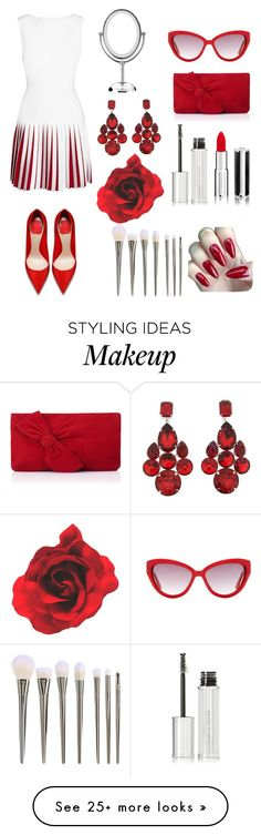 """""""Valentine's day❤"""" by star-kwt on Polyvore featuring Moschino, Givenchy, Alaïa, L.K.Bennett and Dolce&Gabbana"""