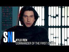 Star Wars Undercover Boss: Starkiller Base - SNL - YouTube  Kylo Ren (Adam Driver) goes undercover as Matt, a radar technician, at Starkiller Base.