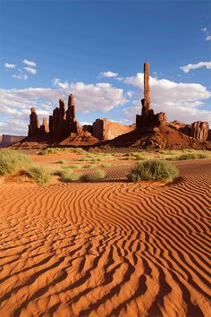 Totem Pole & Yei Bi Chei, Monument Valley, Arizona - Photo by coventrysdragon http://www.flickr.com/photos/97651259@N00/5069015439/