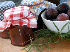 In our backyard, there is a plum tree and it went crazy last season and we had oodles of plums. I was looking for ways to use the fruit and found this delicious recipe for chutney that came from the Red Castle Inn BAndB in Nevada City, CA. I gave three of the jars away as Christmas gifts and it was a hit!