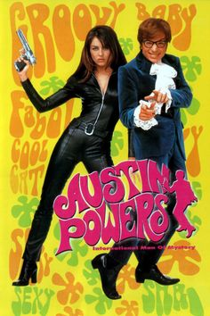 Austin Powers: International Man of Mystery 1997 This has become a continuing trademark of the series – in Austin Powers: The Spy Who Shagged Me (1999) he really does dance naked. Description from d-movie2.biz. I searched for this on bing.com/images
