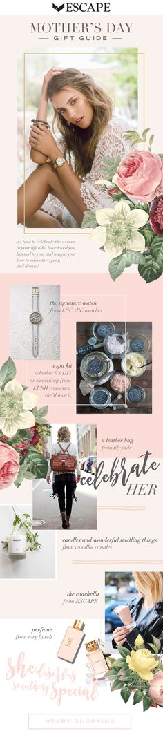 DESIGN BY: Lindsey Eryn Clark, Third Story Apartment Newsletter Design. Created for: @escapewatches