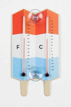 Popsicle Window Thermometer - Urban Outfitters