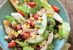 Tostada Salad! Picnic or potluck food!