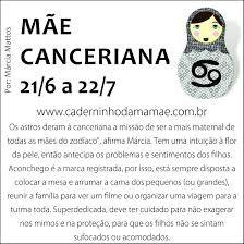 mãe canceriana