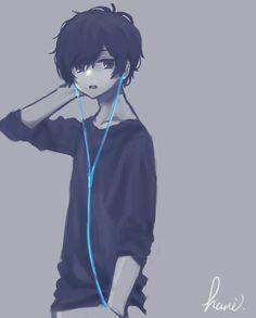 Music to my ears Anime Boys, Manga Anime, Hot Anime Boy, Manga Boy, Cute Anime Guys, Anime Art, Dark Anime, Vampire Knight, Otaku
