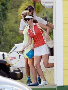 Pippa Middleton showcases her super-toned arms after tennis match