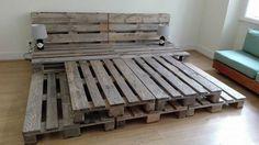 17 DIY Platform Bed 17 DIY Platform Bed- Whole Pallet Platform Bed 150 Wonderful Pallet Furniture Ideas