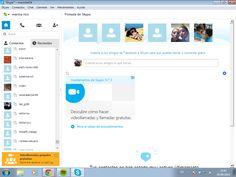 Creación de una cuenta Skype.