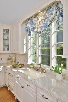 A White Classic Kitchen With A Soft Look - Carla Aston Interior Design