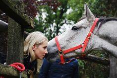 She loves her ♡ -Horses-