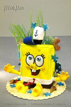 Sponge Bob Cake - Cake by MLADMAN