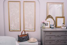 Room Details: Serena & Lily Bed, Julia B Linens, Anthropologie Nightstands, Vintage Lamps, Wisteria Dresser, Serena & Lily Bench, Ariana Belle Throw Pillows, Serena & Lily Throw ...