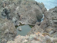 Charco Verde. Costa de La Guancha (Tenerife)