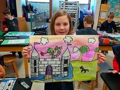 Art with Mrs. Seitz: Castles