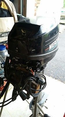 Used 9.9 Hp Mercury Outboard For Sale