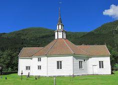 Rosekyrkja mot nord - Old Stordal Church - Wikipedia, the free encyclopedia