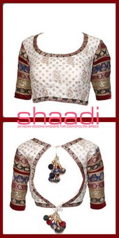The simple choli has become a high fashion statement #Sareeblouse #Shaadimagazine