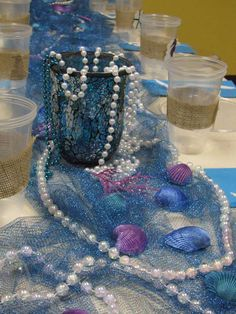 Mermaids / Under the Sea Birthday Party Ideas | Photo 2 of 12 | Catch My Party